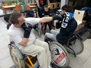Association les serre-dents Handi boxe Le Portel